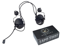 1/6 Scale LAPD SWAT Assaulter - Driver Headset
