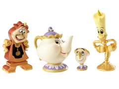 Beauty and the Beast Disney Showcase Enchanted Object Set