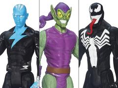 Spider-Man Web Warriors Titan Villain Wave 1 - Set of 3
