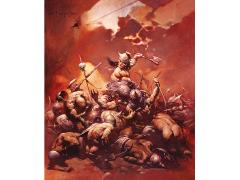 Frank Frazetta The Destroyer Lithograph SDCC 2016 Exclusive