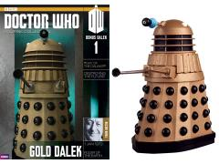 Doctor Who Figure & Magazine Collection #1 - Gold Dalek