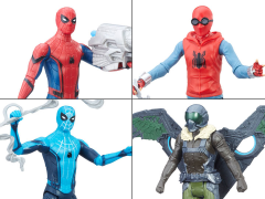 Spider-Man: Homecoming Web City Wave 01 - Set of 4 Figures