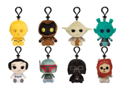 Star Wars Mystery Minis Box of 18 Keychain Plush