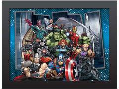 Marvel Avengers Gallery Group Shot 3D Framed Artwork