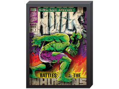 Marvel Hulk Comic Cover Printed Glass Art