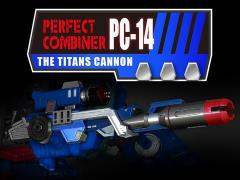 PC-14 Perfect Combiner The Titans Cannon Upgrade