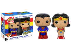 Pop! Home: DC Salt & Pepper Shakers - Superman & Wonder Woman