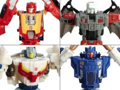 Transformers Titans Return Deluxe Wave 3 Set of 4