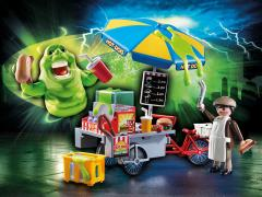 Ghostbusters Playmobil Playset - Slimer With Hot Dog Stand