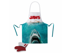 Jaws Poster Apron & Oven Gloves