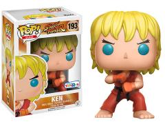 Pop! Games: Street Fighter - Ken (Special Attack) Exclusive