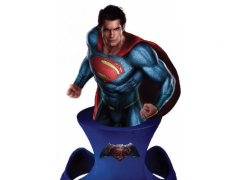 Batman v Superman Resin Paperweight Bust - Superman