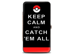 Pokemon Keep Calm and Catch 'Em All Hinged Wallet