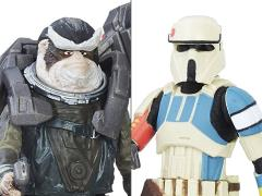 Rogue One: A Star Wars Story Shoretrooper Captain & Bistan Two Pack