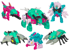 Transformers G1 Commemorative Seacons Decepticon Piranacon Exclusive