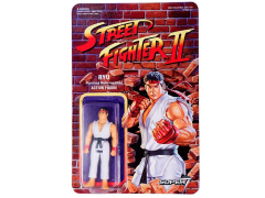 Street Fighter II Retro Action Ryu Figure