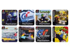 PlayStation Video Game Set of 4 Double-Sided Coasters