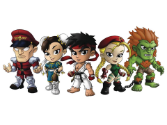 Street Fighter Lil' Knockouts Mini Vinyl Figure Series 1 Random Figure