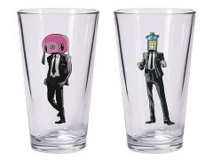 The Umbrella Academy Hazel & Cha-Cha Pint Glass Set
