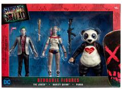 Suicide Squad Bendable Figure Three Pack