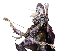 World of Warcraft Sylvanas Statue