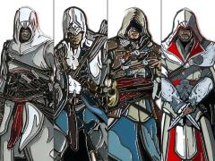 Assassin's Creed FiGPiN Set of 4
