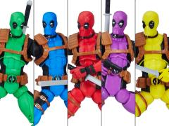 Marvel Legends Deadpool's Rainbow Squad Five Pack