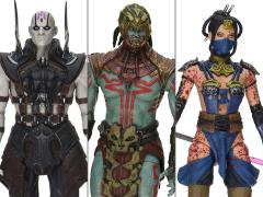 "Mortal Kombat X 6"" Figure Series 02 - Set of 3 Variant PX Previews Exclusive"