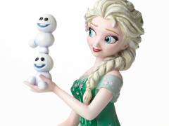 Frozen Fever Disney Grand Jester Elsa & Olaf Bust