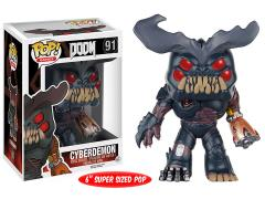 "Pop! Games: Doom - Super-Sized 6"" Cyberdemon"