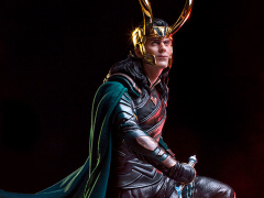 Thor: Ragnarok Battle Diorama Series Loki 1/10 Art Scale Statue