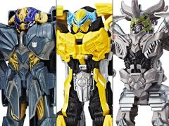 Transformers: The Last Knight Knight Armor Turbo Changer Wave 2 Set of 3