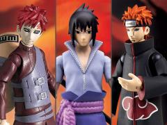 Naruto Poseable Action Figure Wave 2 Set of 3 Figures