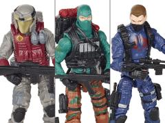 G.I. Joe 50th Anniversary Wave 1 The Viper's Pit Outnumbered Team Pack BBTS Exclusive