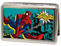 Marvel Spider-Man (Swinging Thwip) Metal ID Wallet