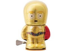 "Star Wars 4"" Bebot Tin Wind-Up - C-3PO"