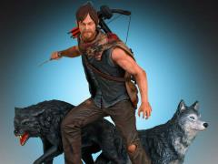The Walking Dead Daryl & The Wolves Statue