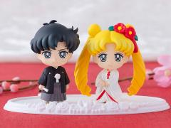 Sailor Moon Petit Chara! Happy Wedding Usagi & Mamoru (Japanese Wedding Ver.) Two-Pack