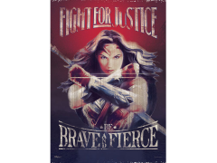 Wonder Woman Fight for Justice MightyPrint Wall Art