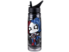 Pop! Home: DC Acrylic Water Bottle - Harley Quinn