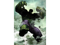 Marvel Dark Edition Hulk Displate Metal Print