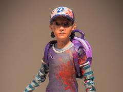 The Walking Dead (Video Game) Clementine (Bloody) Figure Exclusive