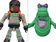 Ghostbusters Minimates Series 1 Slimed Patty & Mrs. Slimer