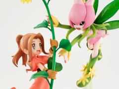 Digimon Adventure 1/10 Scale G.E.M. Figure - Lilimon & Mimi