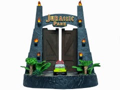 Jurassic Park Gates Environment Sculpture