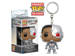Pocket Pop! Keychain: Justice League Cyborg