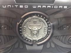 Transformers Unite Warriors UW-02 Menasor Collector Coin