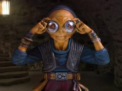 Star Wars Maz Kanata (The Force Awakens) 1/6 Scale Mini Bust