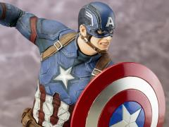 Captain America: Civil War ArtFX+ Captain America Statue