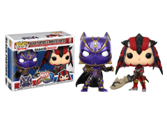 Pop! Games: Marvel Vs. Capcom: Infinite - Black Panther Vs Monster Hunter